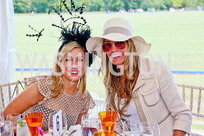 Danielle Bradley, Julie Giuliani. Photo by Tony Powell. NSLM 2013 Benefit Polo Match and Luncheon. Llangollen Estate. September 15, 2013