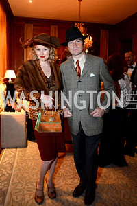 Dana and Tim Rooney. S&R Foundation's Night Nouveau at the Evermay Estate, November 2, 2013 Photos by Neshan H. Naltchayan