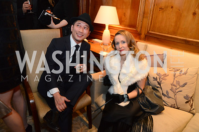 Jimmy Yeh and his wife Isabelle Brochard Yeh. S&R Foundation's Night Nouveau at the Evermay Estate, November 2, 2013 Photos by Neshan H. Naltchayan