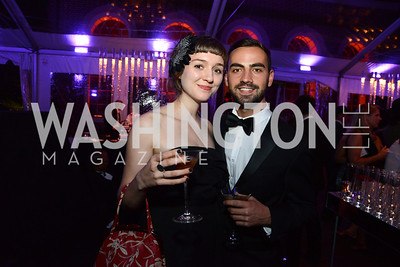 Katherine Jane Tucker and Richard Bobo. S&R Foundation's Night Nouveau at the Evermay Estate, November 2, 2013 Photos by Neshan H. Naltchayan