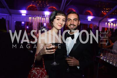 Katherine Jane Tucker and Richard Bobo. S&R Foundation's Night Nouveau at the Evermay Estate, November 2, 2013 Photos by Neshan H. Naltchayan
