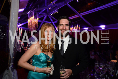 Emily Porter and Michael Howes. S&R Foundation's Night Nouveau at the Evermay Estate, November 2, 2013 Photos by Neshan H. Naltchayan