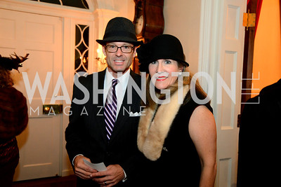Almus and Elizabeth Thorp. S&R Foundation's Night Nouveau at the Evermay Estate, November 2, 2013 Photos by Neshan H. Naltchayan