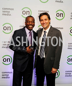 LeVar Burton,Mark Wolfe.September 10,2013,Ninth Annual Common Sense Media Awards,Kyle Samperton