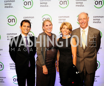 CoryGarfin,Susan Crown,Kristen Kunkler,Fred Rucker.September 10,2013,Ninth Annual Common Sense Media Awards,Kyle Samperton