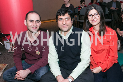 Heidar Sobhami, Hossein Reufarshbad, Zeynab Maseudnia. Norooz Persian New Year. Photo by Alfredo Flores. Freer Gallery of Art and the Arthur M. Sackler Gallery. March 16, 2013.