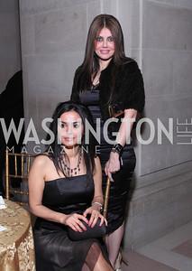 Maryam Shojaei (seated) and Dr. S. Khozein