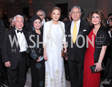 Nasser Kazeminy, Annie Totah, Empress Farah Pahlavi, and David & Haleh Niroo