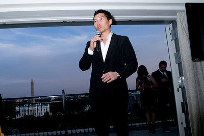 Daniel Dae Kim. Photo by Alfredo Flores. OUR VOICES Celebrating Diversity in Media‏. Hay-Adams Hotel. April 26, 2013.