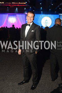 Vincent De Paul The Official Presidential Inaugural Ball. Walter E. Convention Center. Photo by Ben Droz.