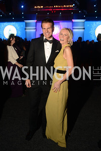 Vincent De Paul, Carole Vargas, The Official Presidential Inaugural Ball. Walter E. Convention Center. Photo by Ben Droz.