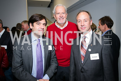 Rob Cox, Jack Davies, Mark Barden. Photo by Alfredo Flores. On Behalf of Sandy Hook Promise, Newtown, CT. Verizon Center. December 2, 2013.