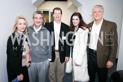 Lynn Leonsis, Ted Leonsis, Billy Campbell, Loree Allen, Rick Allen. Photo by Alfredo Flores. On Behalf of Sandy Hook Promise, Newtown, CT. Verizon Center. December 2, 2013.