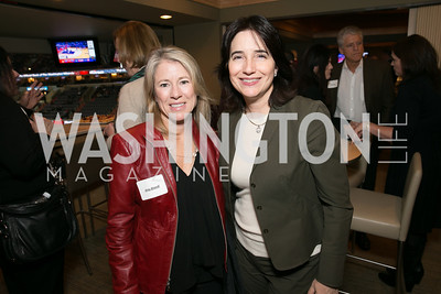 Amy Biondi, Karen Schaufeld. Photo by Alfredo Flores. On Behalf of Sandy Hook Promise, Newtown, CT. Verizon Center. December 2, 2013.