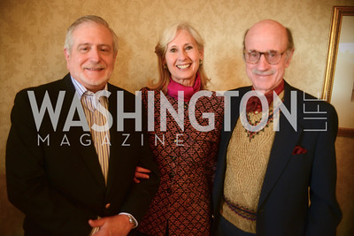 Jim Gale, Willee Lewis, Finlay Lewis,  Open House and Review of Inaugural Parade for President Barack Obama.  Willard Intercontinental Hotel, Washington Suite, 10th Floor. Hosted by Lisa Barry, VP and Governmental Relations Manager, Chevron.  Photo by Ben Droz.