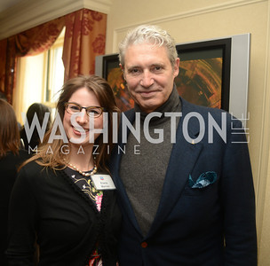 Elana Marion, Michael Nouri,  Open House and Review of Inaugural Parade for President Barack Obama.  Willard Intercontinental Hotel, Washington Suite, 10th Floor. Hosted by Lisa Barry, VP and Governmental Relations Manager, Chevron.  Photo by Ben Droz.