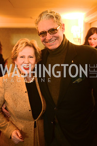 Lisa Barry, Michael Nouri,  Open House and Review of Inaugural Parade for President Barack Obama.  Willard Intercontinental Hotel, Washington Suite, 10th Floor. Hosted by Lisa Barry, VP and Governmental Relations Manager, Chevron.  Photo by Ben Droz.