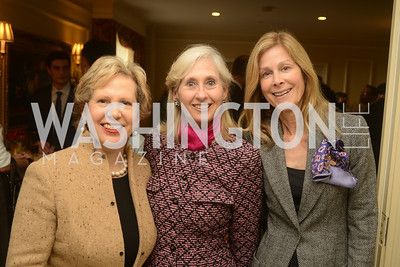 Lisa Barry, Willee Lewis, Eileen Shield-West,  Open House and Review of Inaugural Parade for President Barack Obama.  Willard Intercontinental Hotel, Washington Suite, 10th Floor. Hosted by Lisa Barry, VP and Governmental Relations Manager, Chevron.  Photo by Ben Droz.
