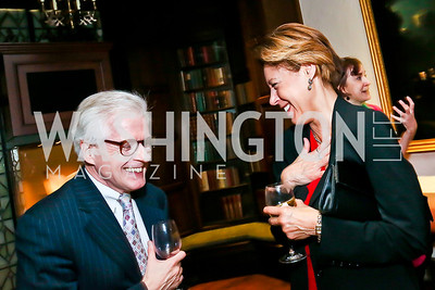 Thomas Mallon, Lisa Page. Photo by Tony Powell. PEN/Faulkner Award for Fiction. Folger Shakespeare Library. May 4, 2013