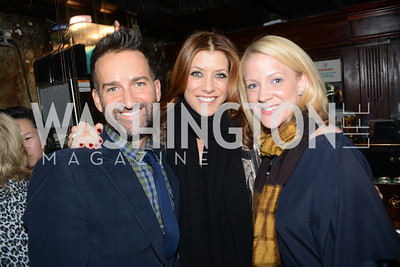 Sergio Lopez-Rivera, Kate Walsh, Jennifer Rosenbaum,  Planned Parenthood joined Rock the Vote to celebrate the Inauguration of President Obama and the 40th Anniversary of Roe v. Wade.  Q-Tip and Delta Rae performed. Photo by Ben Droz.