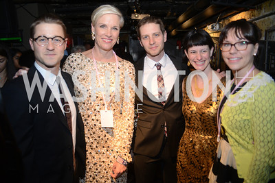 Ben McKenzie, Cecile Richards, Nate Schenkkan, Scout Tufanlejian, Jennifer Samawat,  Planned Parenthood joined Rock the Vote to celebrate the Inauguration of President Obama and the 40th Anniversary of Roe v. Wade.  Q-Tip and Delta Rae performed. Photo by Ben Droz.