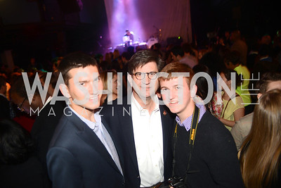 Congressman Brad Schneider and sons, Planned Parenthood joined Rock the Vote to celebrate the Inauguration of President Obama and the 40th Anniversary of Roe v. Wade.  Q-Tip and Delta Rae performed. Photo by Ben Droz.