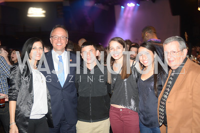 Congressman Ted Deutch, and Family, Planned Parenthood joined Rock the Vote to celebrate the Inauguration of President Obama and the 40th Anniversary of Roe v. Wade.  Q-Tip and Delta Rae performed. Photo by Ben Droz.