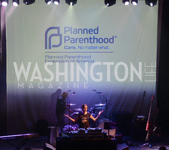 Planned Parenthood joined Rock the Vote to celebrate the Inauguration of President Obama and the 40th Anniversary of Roe v. Wade.  Q-Tip and Delta Rae performed. Photo by Ben Droz.