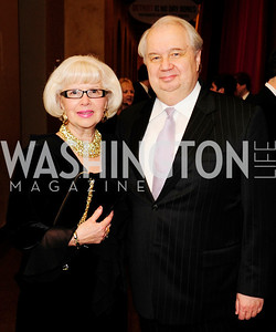 Natalia Kislyak,Russian Amb.Segey Kislyak,Prevent Cancer Foundation's Festa Della Donna,March 8 20013,Kyle Samperton
