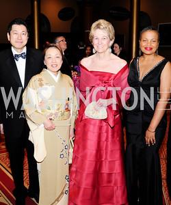 Ryuji Ueno,Sachiko,Bo Aldige,Julie Delgado,Prevent Cancer Foundation's Festa Della Donna,March 8 20013,Kyle Samperton