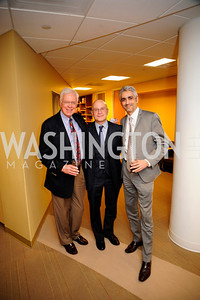 Bill Press,Stan Collender.Amjad Atallah,,April 3,2013,Qorvis Communication's Book Party for David Stockman,Kyle Samperton
