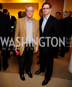 Peter Safir,Nils Overpark,April 3,2013,Qorvis Communication's Book Party for David Stockman,Kyle Samperton