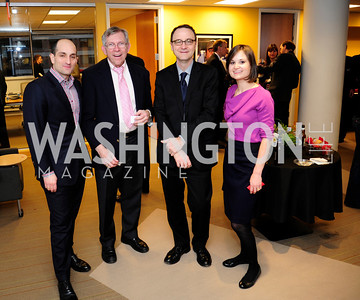Lex Haris,Jerry Idaszak,Rich Barbieri,Annalyn Kurtz,,April 3,2013,Qorvis Communication's Book Party for David Stockman,Kyle Samperton