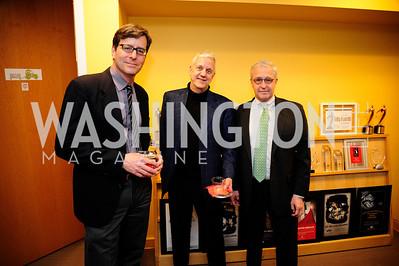 Darren Gersh,.Patrick Pexton,John Moore,April 3,2013,Qorvis Communication's Book Party for David Stockman,Kyle Samperton