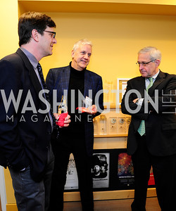 Darren Gersh,.Patrick Pexton,John Moore,April 3,2013,Qorvis Communication's Book Party for David Stockman,Kyle Samperton