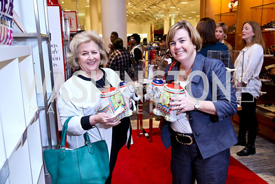 Mary Ann Miller, Suzanne Moran. Photo by Tony Powell. Reception for Ken Downing Gift Collection to benefit THEARC. Neiman Marcus. November 20, 2013