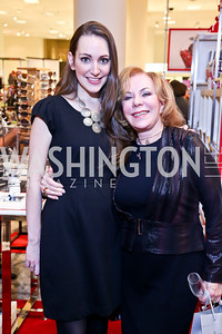Sara Lange, Janet Laird. Photo by Tony Powell. Reception for Ken Downing Gift Collection to benefit THEARC. Neiman Marcus. November 20, 2013