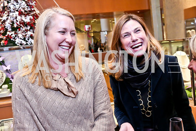 Renee Esfandiary, Erin Mullan. Photo by Tony Powell. Reception for Ken Downing Gift Collection to benefit THEARC. Neiman Marcus. November 20, 2013
