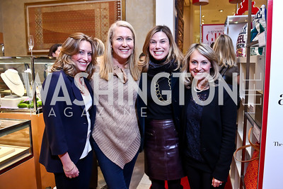 Kelly Broder, Renee Esfandiary, Erin Mullan, Kim Shur. Photo by Tony Powell. Reception for Ken Downing Gift Collection to benefit THEARC. Neiman Marcus. November 20, 2013