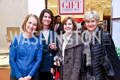 Michelle Depagnier, Janet Stone, Dorea and Susan McMahon. Photo by Tony Powell. Reception for Ken Downing Gift Collection to benefit THEARC. Neiman Marcus. November 20, 2013