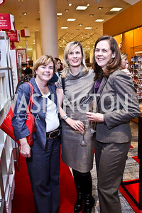 Suzanne Moran, KC Aiello, Kristina Gill. Photo by Tony Powell. Reception for Ken Downing Gift Collection to benefit THEARC. Neiman Marcus. November 20, 2013