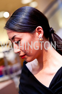 Yun Shen Chong. Photo by Tony Powell. Reception for Ken Downing Gift Collection to benefit THEARC. Neiman Marcus. November 20, 2013