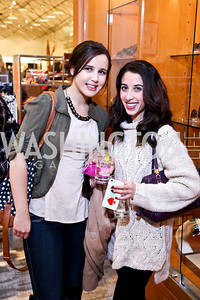 Sarah Abdelkader, Samya Abudheer. Photo by Tony Powell. Reception for Ken Downing Gift Collection to benefit THEARC. Neiman Marcus. November 20, 2013