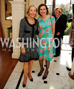 Nina Pillsbury,Heidi Debevoise,April 9,2013,Reception for Light Of Healing Hope Foundation at The Residence of  The French Ambassador,Kyle Samperton