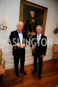 Bruce Ross-Larson,Carl Colby,April 9,2013,Reception for Light Of Healing Hope Foundation at The Residence of  The French Ambassador,Kyle Samperton