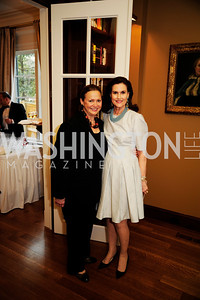 Lizette Corro, Alexandra de Borchgrave,April 9,2013,Reception for Light Of Healing Hope Foundation at The Residence of  The French Ambassador,Kyle Samperton