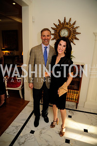 Adam Bernstein,Tracy Bernstein,April 9,2013,Reception for Light Of Healing Hope Foundation at The Residence of  The French Ambassador,Kyle Samperton