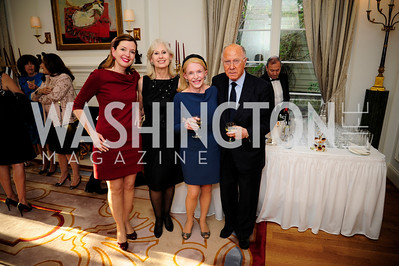 Marie Royce,Willee  Lewis,Shannon Fairbanks,Arnaud de Borchgrave,,April 9,2013,Reception for Light Of Healing Hope Foundation at The Residence of  The French Ambassador,Kyle Samperton