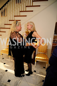 Connie Milstein,Willee  Lewis,April 9,2013,Reception for Light Of Healing Hope Foundation at The Residence of  The French Ambassador,Kyle Samperton