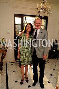 Isabel Jasinowski,Jerry Jasinowski,April 9,2013,Reception for Light Of Healing Hope Foundation at The Residence of  The French Ambassador,Kyle Samperton